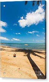Tropical Beach Koh Samui Thailand Acrylic Print by Fototrav Print