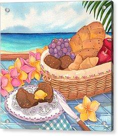 Tropical Breakfast Acrylic Print by Tammy Yee