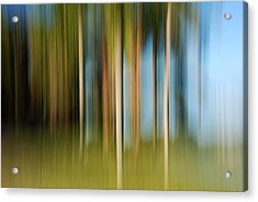 Tropical Brush Acrylic Print
