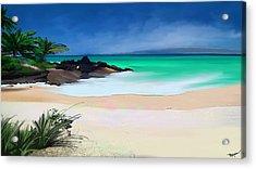 Tropical Charm Acrylic Print