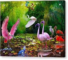 Tropical Colors Acrylic Print