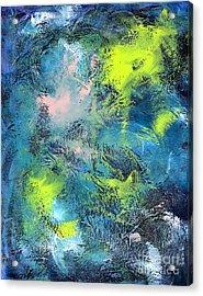 Tropical Cyclone Acrylic Print