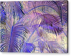 Tropical Embrace Acrylic Print by Roselynne Broussard