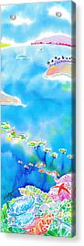 Tropical Fishes Acrylic Print