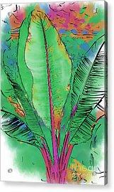 Tropical Foliage Acrylic Print
