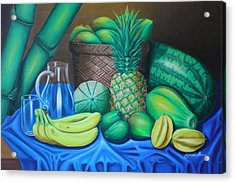 Tropical Fruits Acrylic Print by Gani Banacia