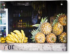 Tropical Fruits Acrylic Print by Tuimages