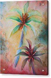 Tropical Image Acrylic Print by Karin Eisermann