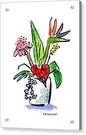 Tropical Mix Acrylic Print