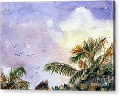 Tropical Morning Acrylic Print