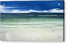 Tropical Ocean Acrylic Print