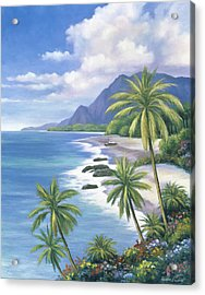 Tropical Paradise 2 Acrylic Print by John Zaccheo