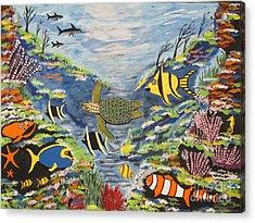 Tropical Paradise Acrylic Print