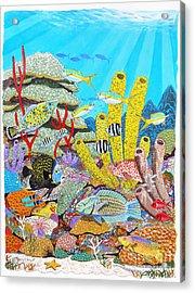 Tropical Reef Acrylic Print