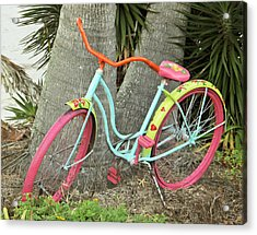 Acrylic Print featuring the photograph Tropical Ride by Rosemary Aubut