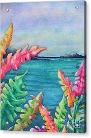 Tropical Scene Acrylic Print