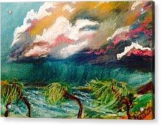Tropical Storm Acrylic Print