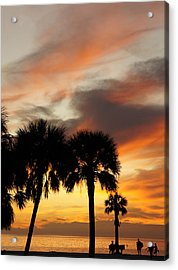 Acrylic Print featuring the photograph Tropical Vacation by Laurie Perry