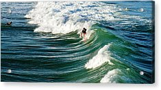 Tropical Wave Acrylic Print by Laura Fasulo