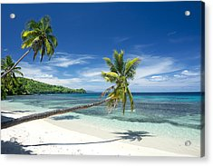 Tropical White Sand Beach Acrylic Print
