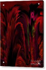 Tropicana Acrylic Print by Patricia Kay
