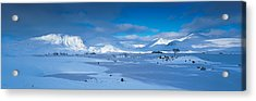Trossachs National Park Scotland Uk Acrylic Print by Panoramic Images
