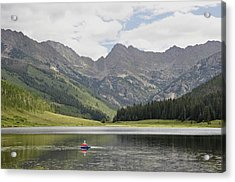 Trout Haven Acrylic Print by RJ Martens