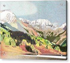 Trout Lake Colorado Acrylic Print by Dan Miller
