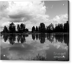 Trout Pond Reflection Acrylic Print