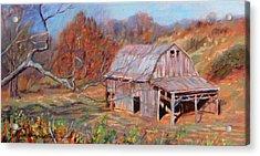 Troutville Barn Acrylic Print