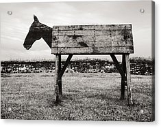 Troy Revisited Acrylic Print by Arkady Kunysz