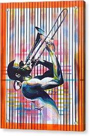 Troy Trombone Shorty Andrews Acrylic Print
