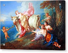 Acrylic Print featuring the photograph Troy's The Abduction Of Europa by Cora Wandel