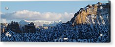 Acrylic Print featuring the photograph Truchas Peaks by Atom Crawford
