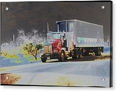 Truck Acrylic Print by Astrid Lenz