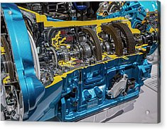 Truck Automatic Transmission Acrylic Print by Jim West/science Photo Library