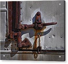 Truck Handle Acrylic Print by Murray Bloom