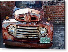 Acrylic Print featuring the photograph Ford In Goodland by Lynn Sprowl