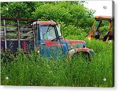 Truck Plant Acrylic Print by Kenneth Feliciano