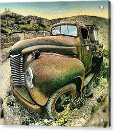 #truck #rust #rusty #pickup #photo Acrylic Print