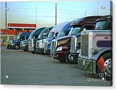 Truck Stop Acrylic Print