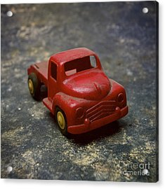 Truck Toy Acrylic Print by Bernard Jaubert