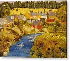 Truckee River - Truckee Ca Acrylic Print