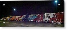 Truckin Acrylic Print