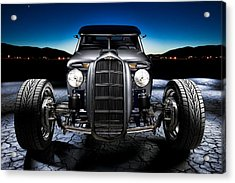 Millers Chop Shop 1964 Truckster Frontend Acrylic Print by Yo Pedro