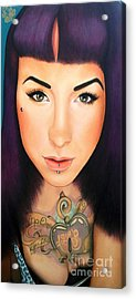 True Beauty - Danielle St Laurent Acrylic Print