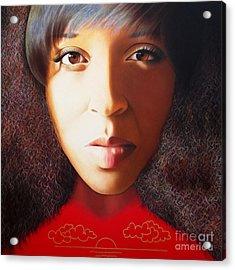 True Beauty - Delena Providence Acrylic Print