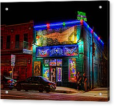 Acrylic Print featuring the photograph True Blue Tattoos by Tim Stanley