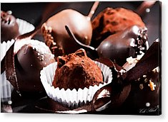 Truffles Acrylic Print by Cole Black