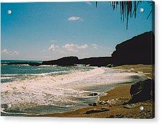 Truman Beach Acrylic Print